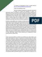 Presencia e Incidencia de Lo Ominoso en El Pensamiento de Freud y Foucault