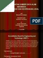 kecerdasan.lokal.local.genius.teknik.kimia.tekstil.UII.dengan.memanfaatkan.potensi.sumber.daya.alam.indonesia.oleh.prof.wahyudi.budi.sediawan.ppt