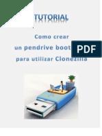Como crear pendrive booteable para utilizar Clonezilla-Live