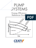 Pump Systems Energy Efficiency Reference Manual