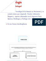 TRIBOLOGIA-FRICCIÓN DESGASTE