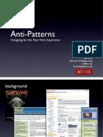 Development anti-patterns
