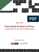 Relatorio Infancia Raca Etnia ANDI 2011