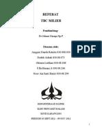 REFERAT TB MILIER dr.Johni Sinaga.doc