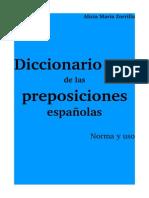 Diccionario de las preposiciones españolas_Zorrilla