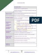 FODA Carta Descriptiva