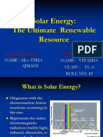 Solar Energy--The Ultimate  Renewable Resource.ppt