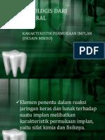 ASPEK BIOLOGIS IMPLANT.ppt
