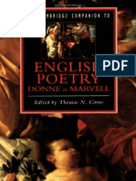 Cambridge Companion To English Poetry - Donne To Marvel.pdf