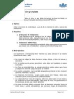 Estándar de Orden y Aseo de Instalaciones - (GPM-CAP) Rev B
