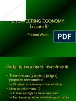eco lec5 present worth.ppt
