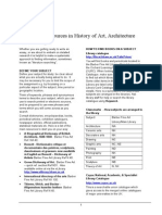 Resources History of Art -Architecture