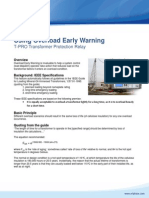 Using Overload Early Warning
