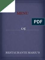 Restaurante Mariu's