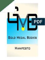GMB Manifesto
