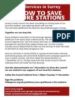 sosis demo leaflet