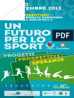 InvitoUn Futuro Per Lo Sport 2013