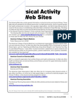 Physical Activity Web Sites