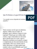 Que Te Detiene a Lograr El Exito Esperado.pdf