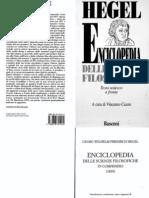 Hegel - Enciclopedia delle scienze filosofiche in compendio (con Annotazioni, testo tedesco a fronte, a cura di V. Cicero).pdf
