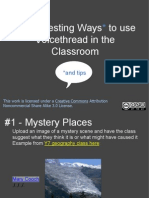 26 interesting ways to use voicethread in the classroom-2