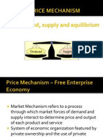 The Price Mechanism , Demand and Supply equilibrium (+ handwritten notes too ).ppt