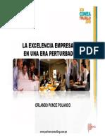 La excelencia Empresarial