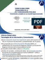 informe global de tics 2013