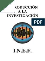 Introduccion a La Investigacion--Instituto Nacional de Educacion Fisica
