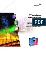 CT Analyzer User Manual