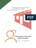 Livro - O Território e o Processo Saúde-Doença (FIOCRUZ)