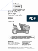 Craftsman Garden Tractor Owners Manual L0901647.pdf