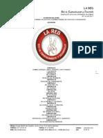 Estatutos La Red 2009