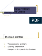 economic problem - scarcity and choice (handwritten notes of scarcity and choice).ppt