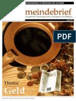 Gemeindebrief 2010 09 Herbst - 3. Ausgabe
