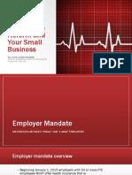 PPACA & Small Businesses Presentation 11/13/2013