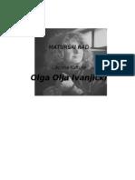 Olja Ivanjicki Maturski Rad