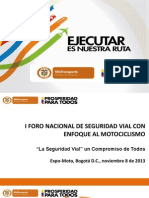 Plan Nacional de Seguridad Vial - Ministerio de Transporte Colombia