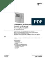 Termostato Siemens RDE 10 Instrucciones