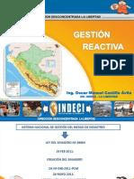Gestion Reactiva Del Riesgo Ing. Oscar Castillo Avila