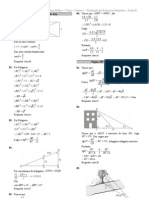 Resolução Propostos 1 ano - Matemática - Frente B Semanas 1 a 3