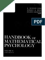 Handbook of mathematical psycology_ vol. II