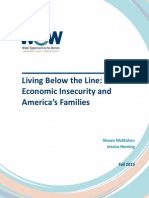 Living Below the Line Economic Insecurity and Americas Families Fall 2013