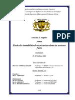 Étude des instabilités de combustion dans les moteurs (MAGISTER).pdf