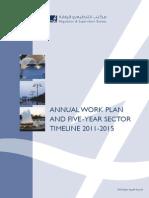 Annual Workplan 2011 UAE Electricity