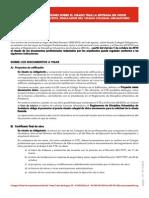 Instrucciones Visado RD1000-2010
