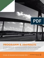 Abstraktbuch PSO-Tagung 2013
