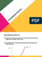 Maximising Profits[1].ppt