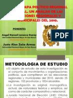 NUEVO MAPA POLÍTICO REGIONAL Y LOCAL