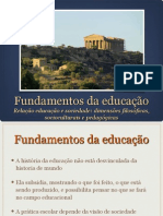 1 - Educacao e Sociedade